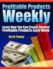 Thumbnail Profitable Products Weekly